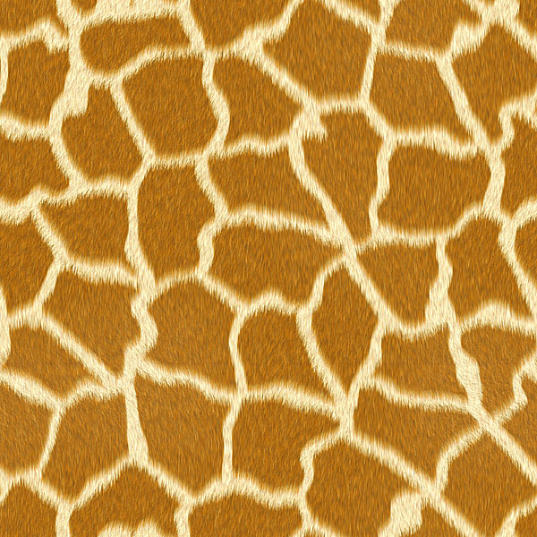 Giraffe Fur - Ochre - DIGITAL PRINT