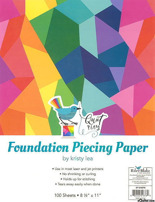 Foundation Piecing Paper - by Kristy Lea