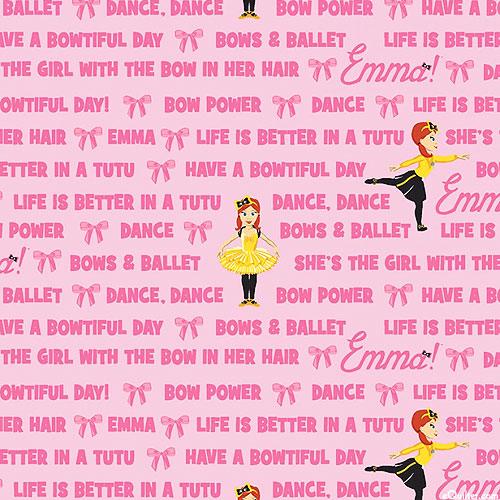 The Wiggles Emma - Bows & Ballet - Ballet Pink