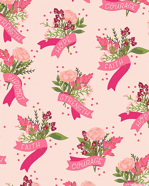 Hope In Bloom - Bouquets of Courage - Retro Pink