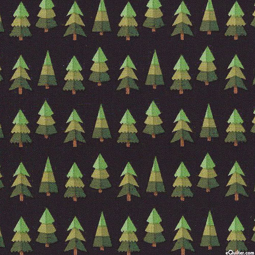 Holly Holiday - Pine Forest - Black