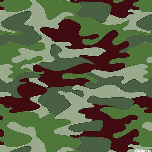 Nobody Fights Alone - Camo - Forest Green
