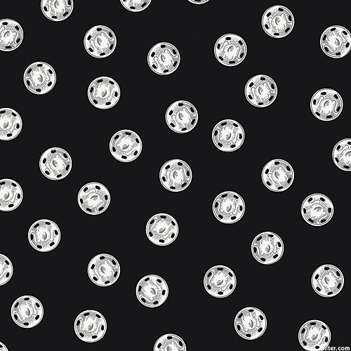 Old Made - Spooky Buttons - Black