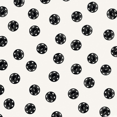 Old Made - Spooky Buttons - White