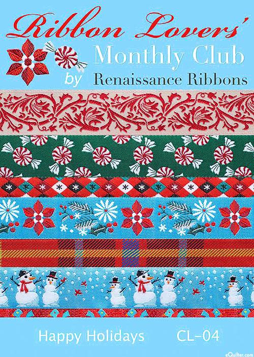 Designer Ribbon Pack - Happy Holidays
