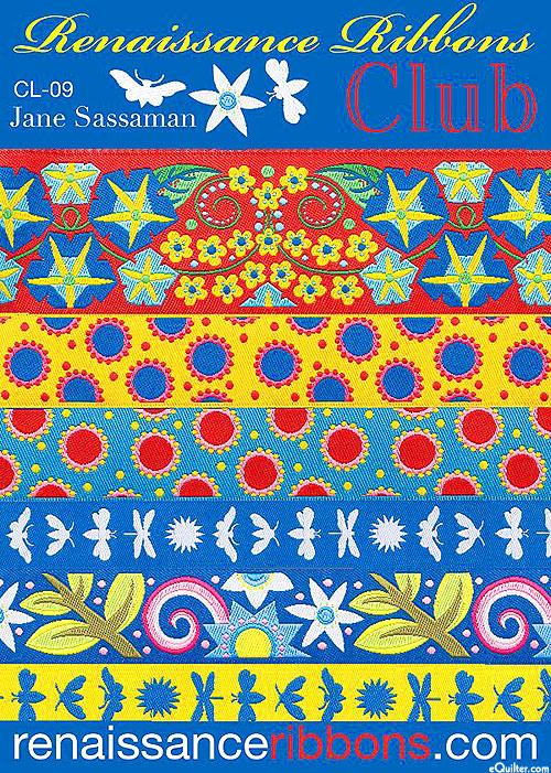 Designer Ribbon Pack - Jane Sassaman