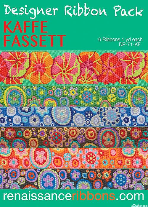 Designer Ribbon Pack - Kaffe Fassett - Lotus