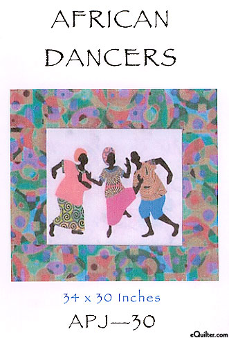 African Dancers - Quilt Pattern by Sew Fabulous