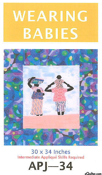Wearing Babies - Quilt Pattern by Sew Fabulous