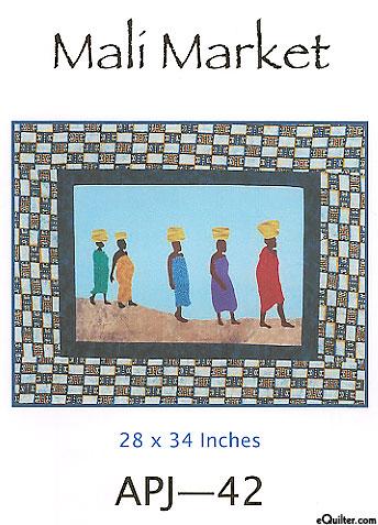 Mali Market - Quilt Pattern by Sew Fabulous