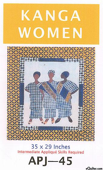 Kanga Women - Quilt Pattern by Sew Fabulous