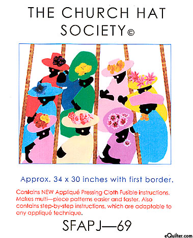 The Church Hat Society - Quilt Pattern by Jeffie Johnson