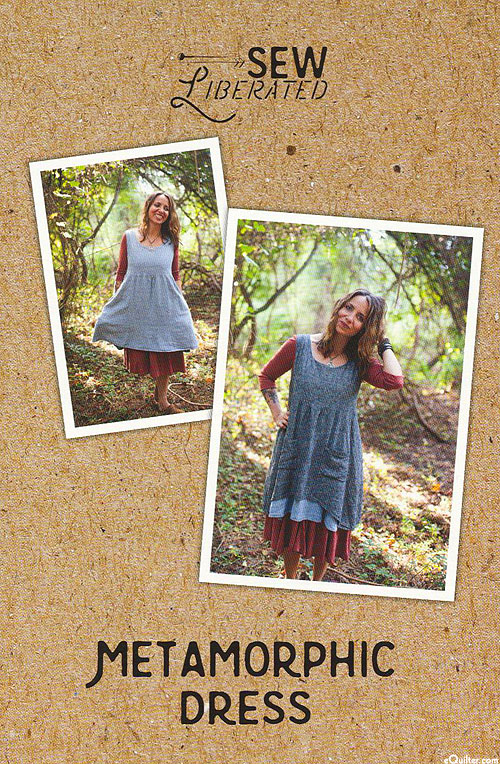 eQuilter Metamorphic Dress - Pattern by Sew Liberated