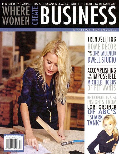 Where Women Create Business Magazine - Spring 2015