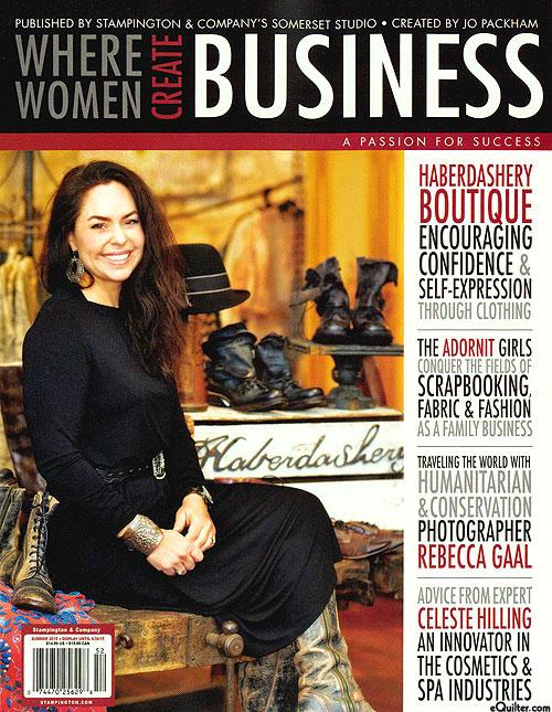 Where Women Create Business Magazine - Summer 2015