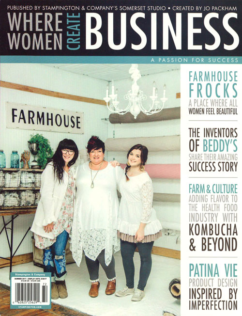 Where Women Create Business Magazine - Summer 2017