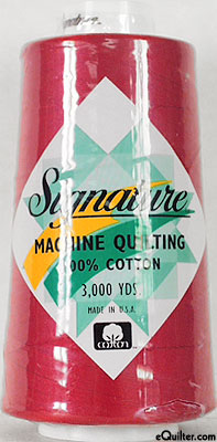Signature Machine Quilting Threads - 3000 Yd.
