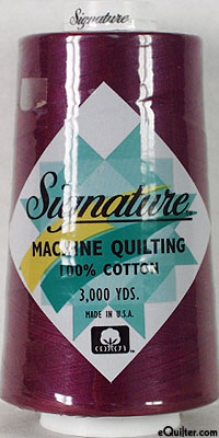 Signature Machine Quilting Threads - 3000 Yd. Cone