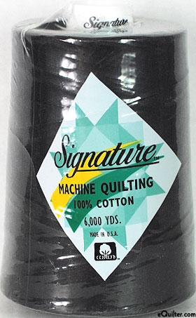 Signature Machine Quilting Threads - 6000 Yd. Cone
