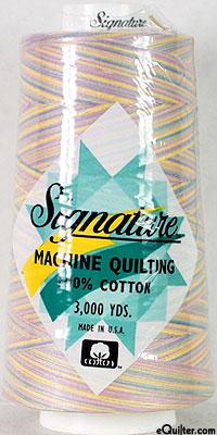 Signature Machine Quilting Threads - 3000 Yd. Cone - Var