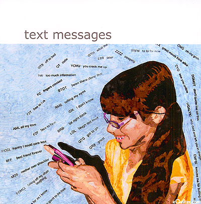 Text Messages - SAQA Global Exhibition Catalog