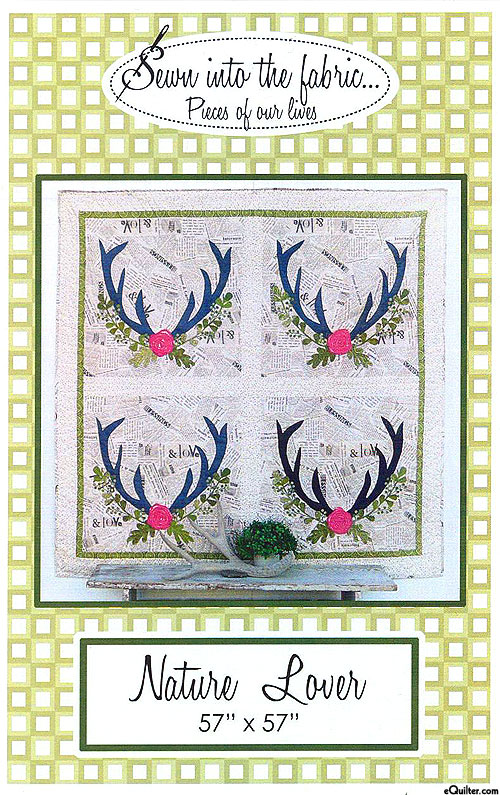 Nature Lover - Applique Pattern by Sewn Into the Fabric
