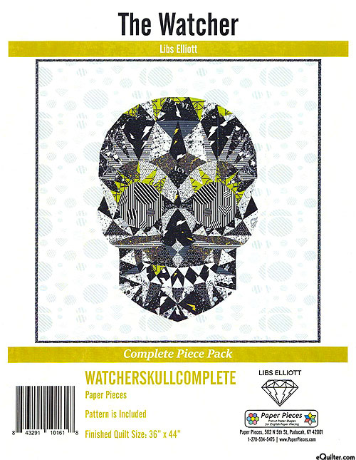 The Watcher - English Paper Piecing Pattern by Libs Elliot