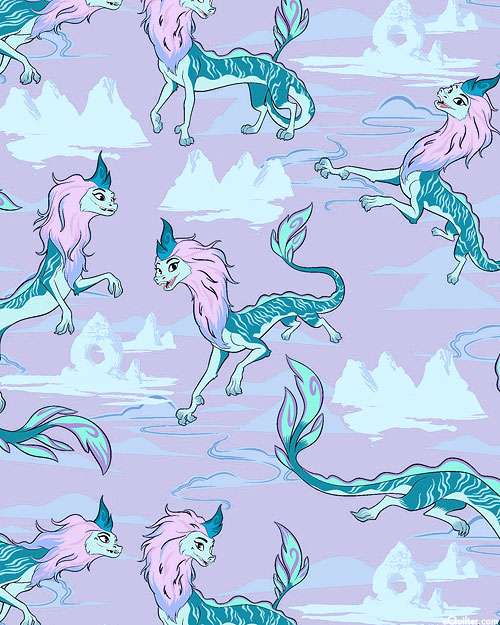 Raya & The Last Dragon - Sisu Sky - Lilac Purple