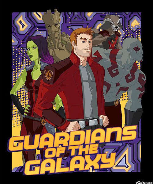 "Guardians of the Galaxy - Gang's All Here - 36"" x 44"" PANEL"