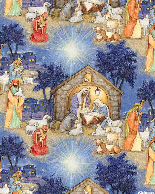 Blessed Birth - Holy Nativity - Delft Blue