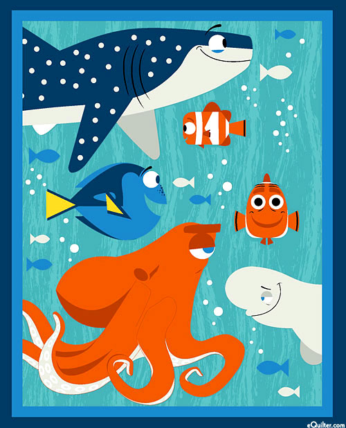 """Finding Dory - A New Adventure - 36"""" x 44"""" PANEL"""