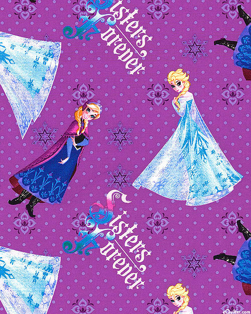 Frozen - Sisters Forever - Lilac