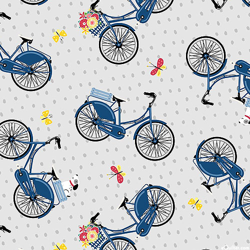 Adventure Time - Bicycle Baskets - Pewter Gray