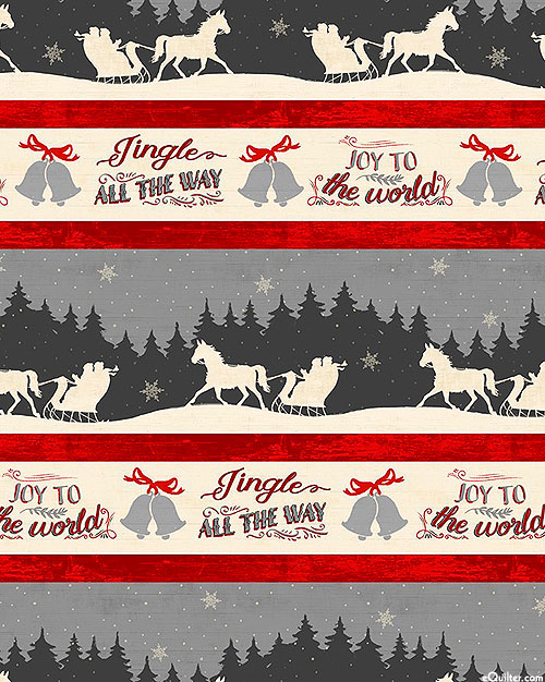 Holiday In The Woods - Jingle Bells Stripe - Multi