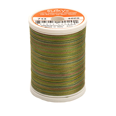 Sulky Blendables 12 wt Thread - 330 yard - Moss Medly