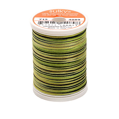Sulky Blendables 12 wt Thread - 330 yard - Olive Tree