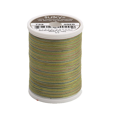 Sulky Blendables 30 wt Thread - 500 yard - Moss Medly