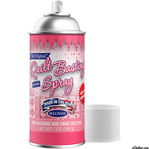 Quilt Basting Adhesive Spray