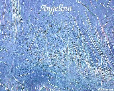 Angelina Fiber - Straight Cut Hot Fix - Cobalt Sparkle