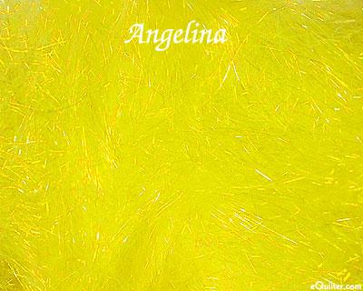 Angelina Fiber - Straight Cut Hot Fix - Lemon Sparkle