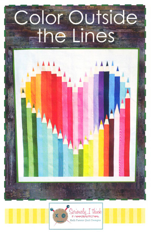 Color Outside the Lines - Quilt Pattern by Kelli Fannin