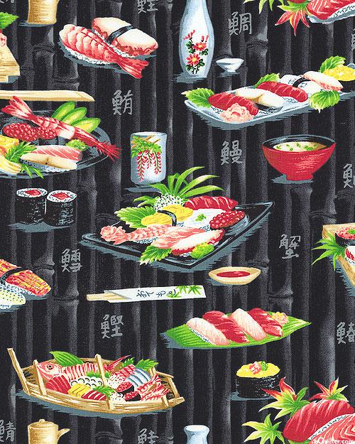 Sushi & Sashimi - Black