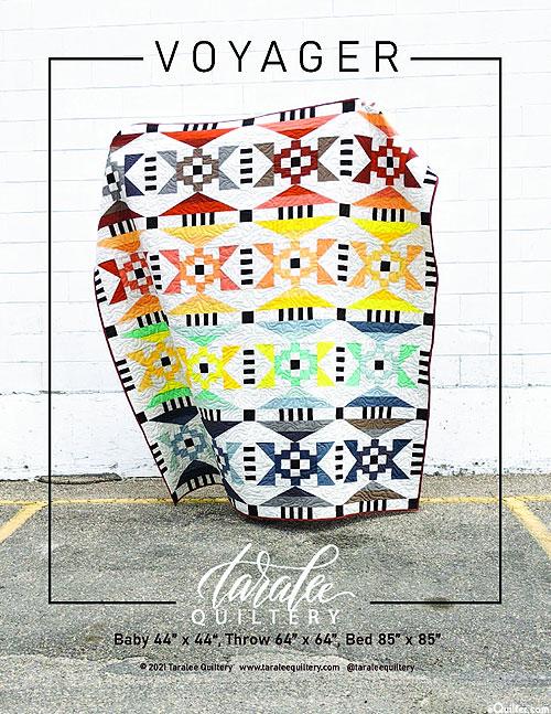 Voyager - Quilt Pattern by Tara Evans