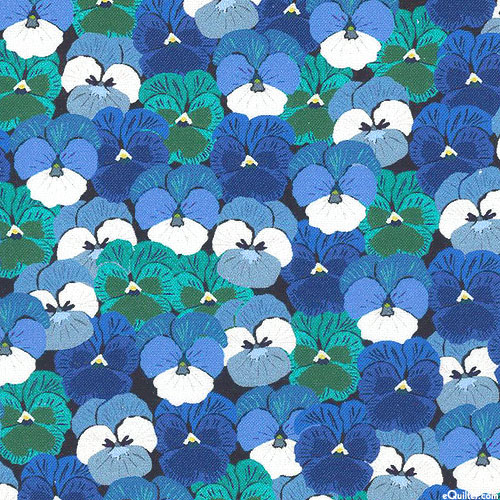 Wild About Flowers - Picturesque Pansies - Royal Blue