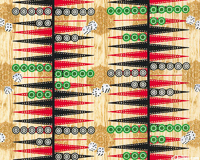 Mini Backgammon - Sand