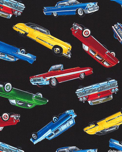 Classic Car Show - Black