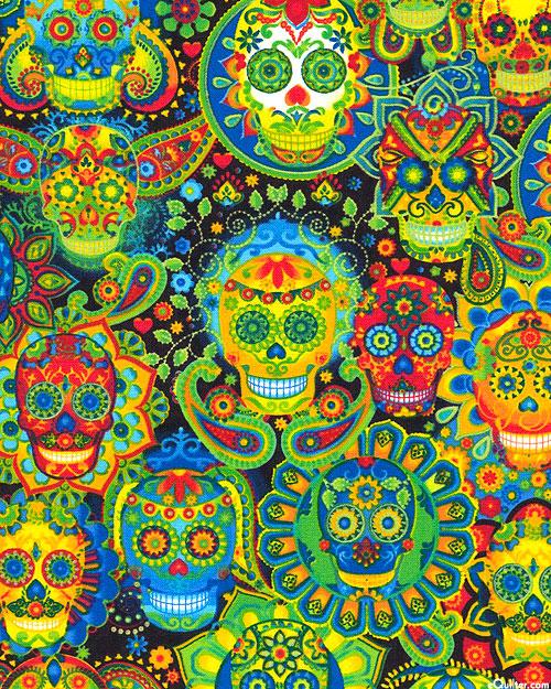 Sugar Skull Carnival - Black