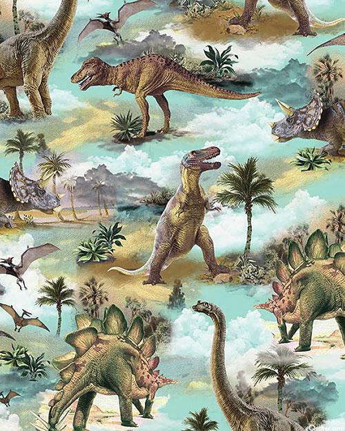 When Dinosaurs Roamed - T-Rex & Friends - Aqua