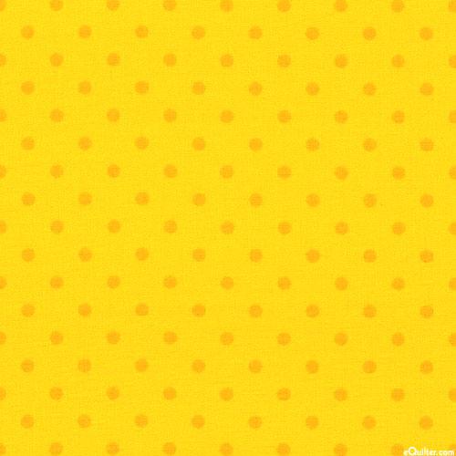Polka Dot Basic - Retro Polka Dots - Sun Yellow