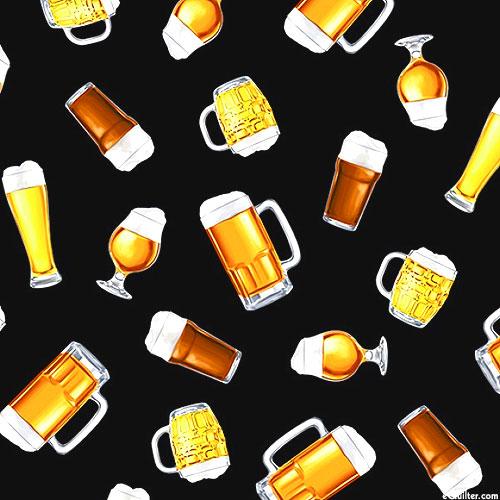 Beer Tasting - Beer Glasses - Black